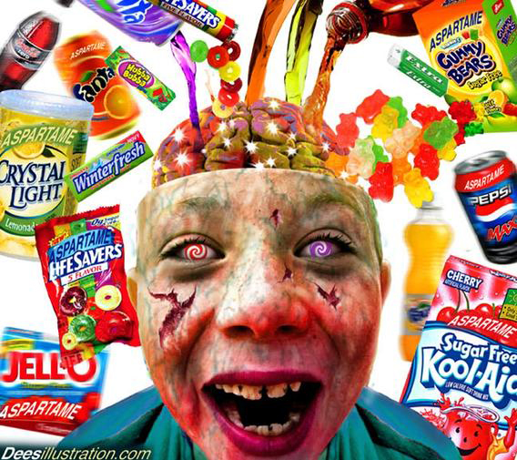 chemical effect on kids aspartame